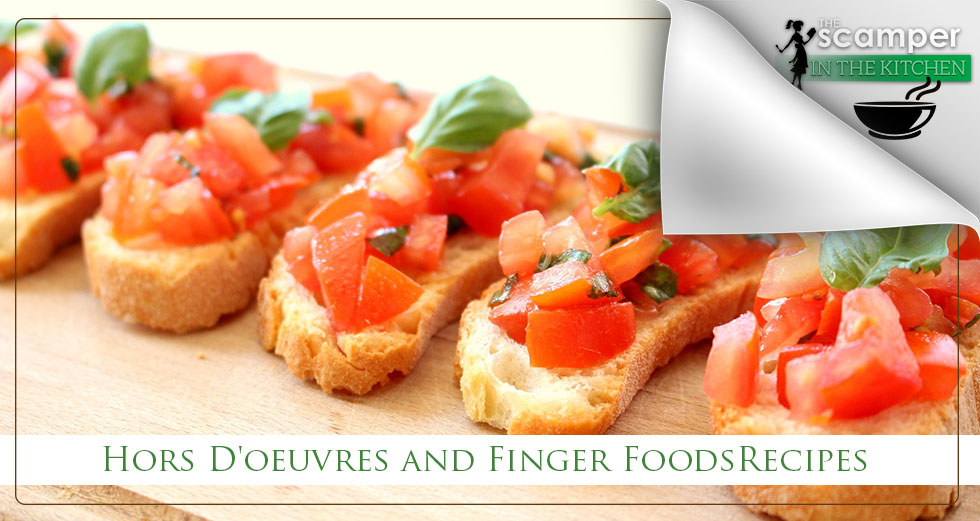 Hors D'oeuvres and Finger Foods