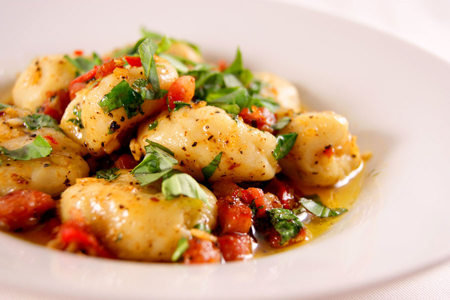 Tricia's Gnocchi with Scamper Sauce