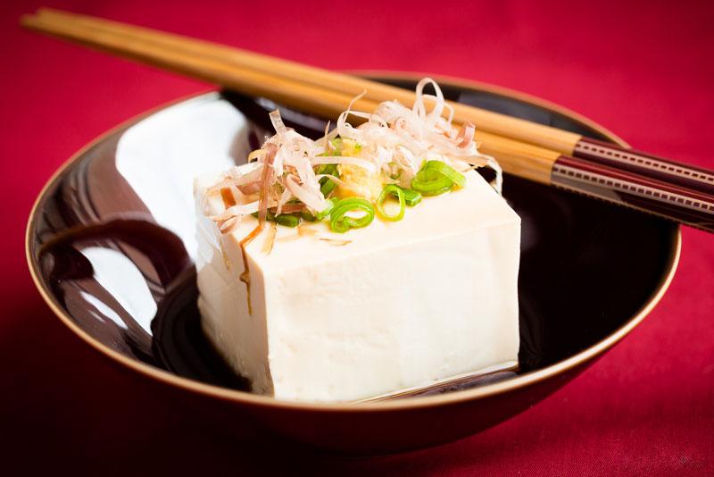 Hiyayakko - Cold tofu bites