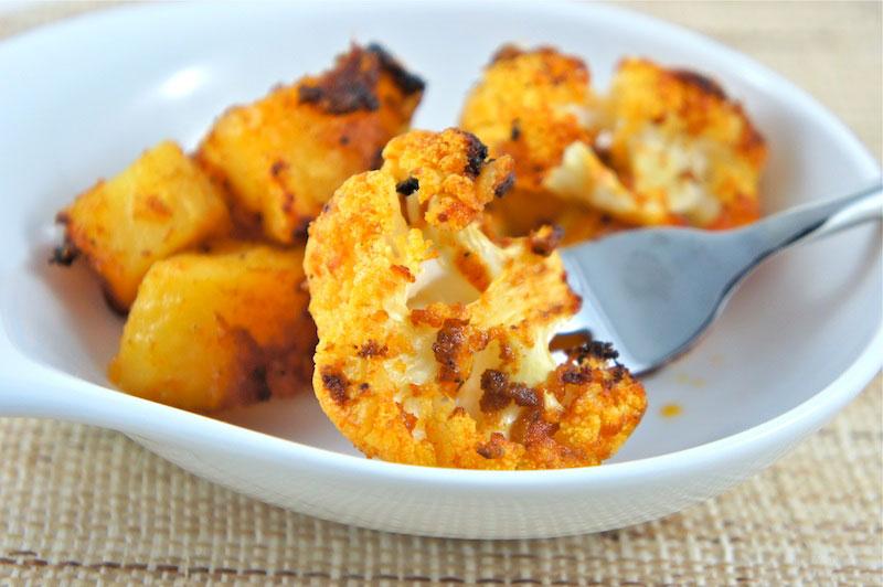 potatoes and cauliflour