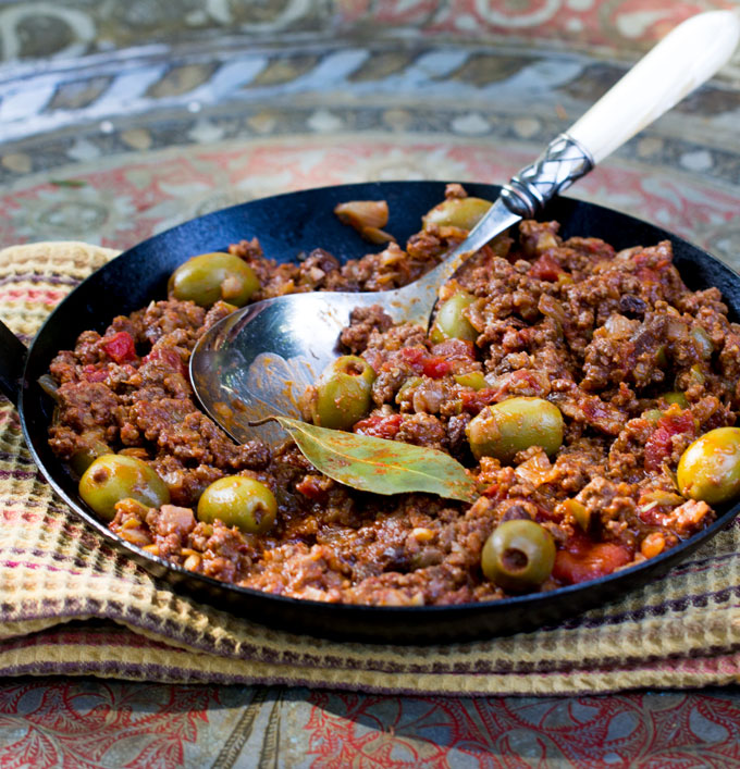Picadillo - Ground beef stew