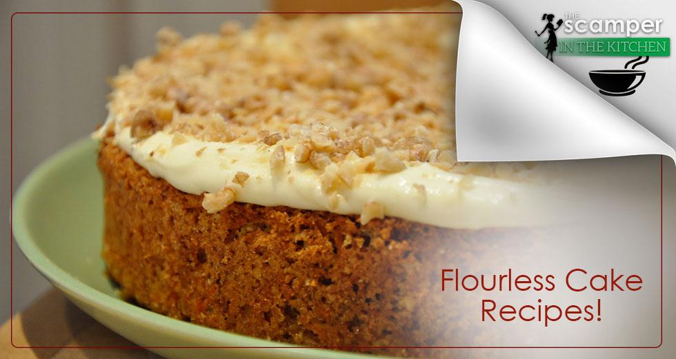 Flourless Cake Recipes - Carrot Cake