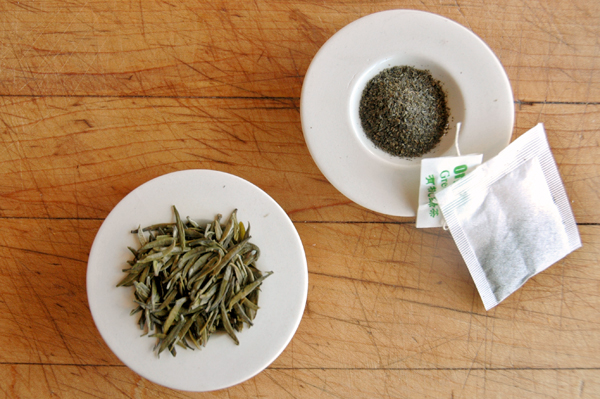 Tea Leaves vs Tea Bag