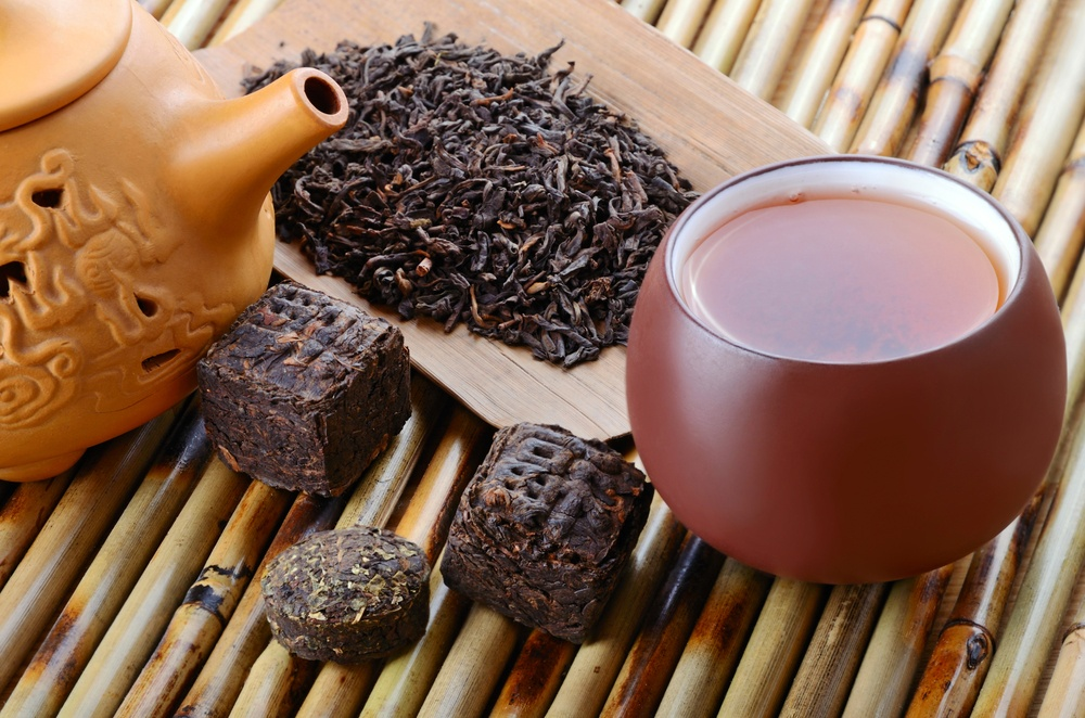 Chinese way Pu'er Tea