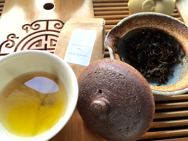 Rinse and Steep Oolong Tea