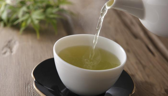 Water Ratio for Green Tea