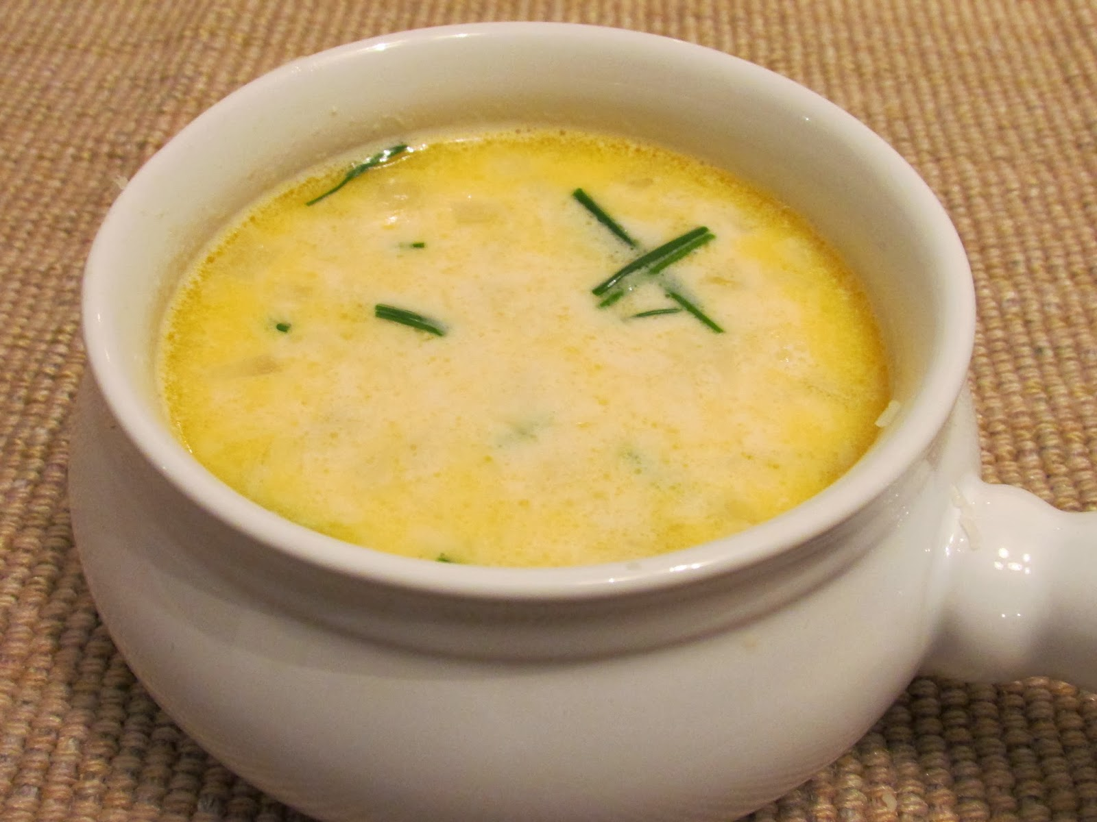 champagne crab soup
