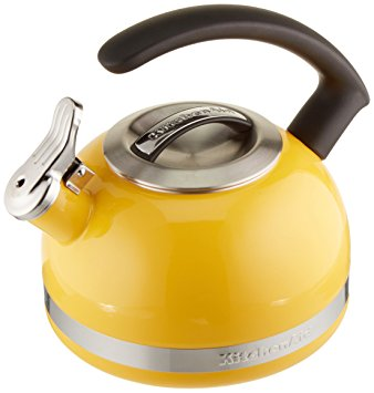 2.0-Quart Kettle with C Handle and Trim Band - Citrus Sunrise