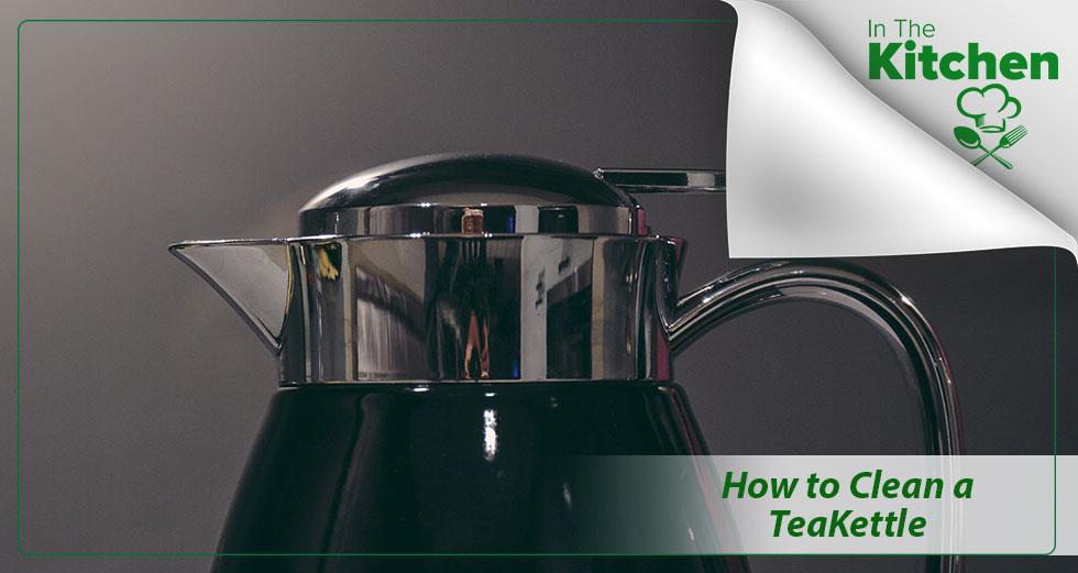 clean a tea kettle