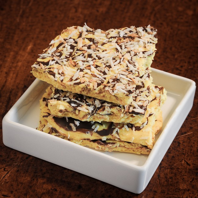 coconut curry bark