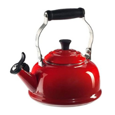 Le Creuset 1.7 Quart Enamel-on-Steel Whistling Tea Kettle