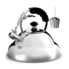 Willow & Everett 2.75 Quart Stovetop Whistling Tea Kettle